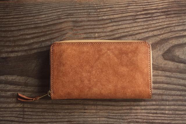 [alveare] round fastner long wallet / 長財布