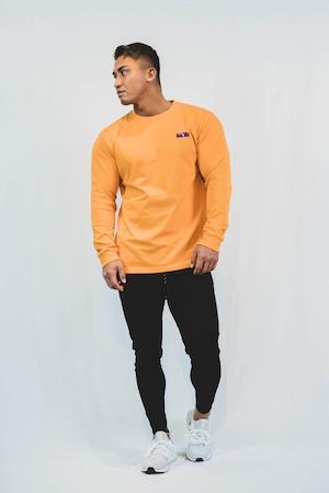 XENO LABEL LS T-shirt Orange
