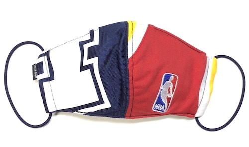 【デザイナーズマスク 吸水速乾COOLMAX使用 日本製】NBA SPORTS MIX MASK CTMR 1205010