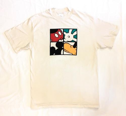 Mickey Panel Print S/S Tee <Deadstock>