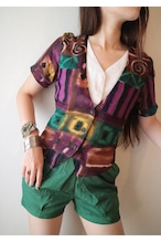 Ethnic pattern tops