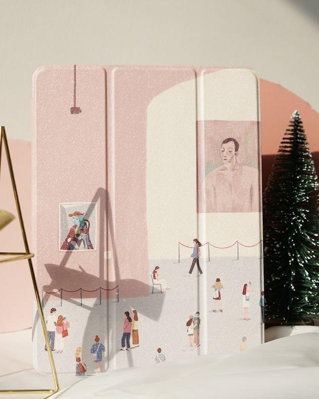 pastel iPad case