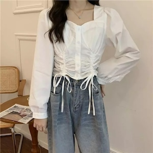 elegant blouse[2103-32]