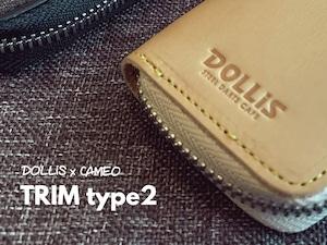 【販売中】DOLLiS×CAMEOダーツケース TRIM type2 DOLLiS限定モデル