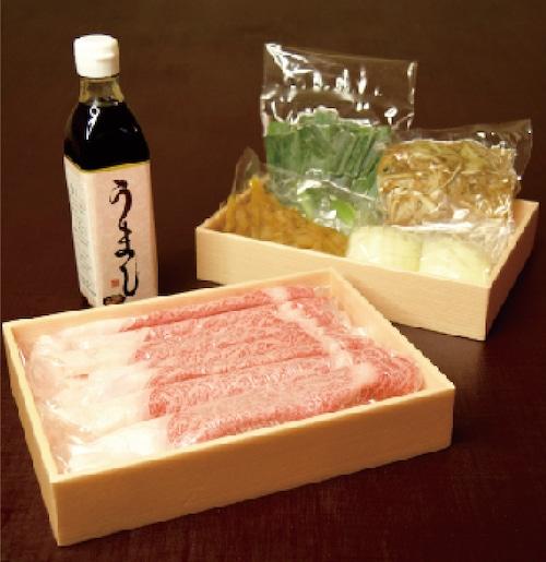 おうちグルメ! 日本三大和牛の定番! 鍋と水さえあれば簡単に! 認証近江牛のすき焼き