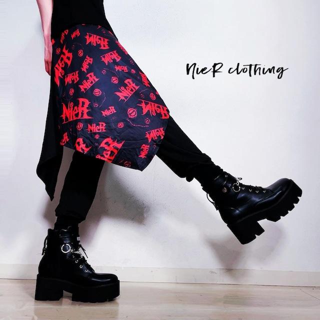 フラップ付きSARROUEL PANTS【NieR RED LOGO】