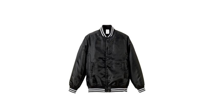 1991 stadium jacket (BK/WH)
