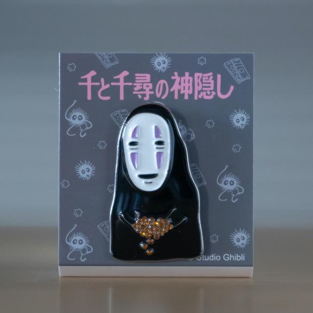千と千尋の神隠し メタルブローチ(カオナシ GB-09/6065)
