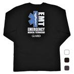GUARD ガード 長袖 ロング Tシャツ スターオブライフ  EMT 救急救命士 ls-213 メンズ アウトドア レスキュー ライフセービング