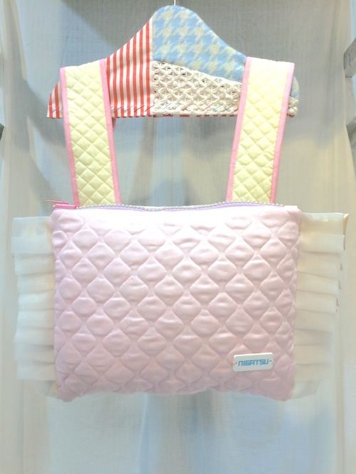 NIGATSU まくら背負い 新型ピンク
