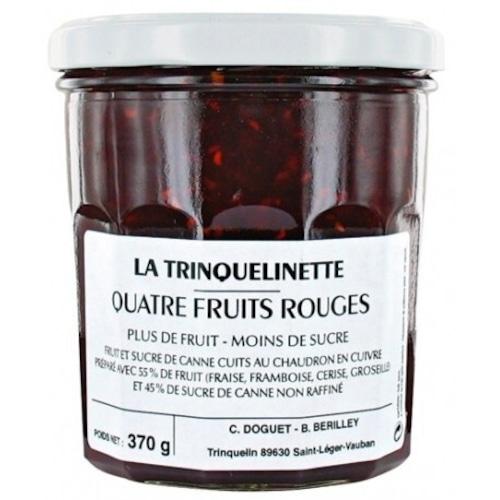 4種の赤い果実のコンフィチュール