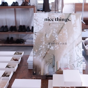 nice things. ISSUE 63, 復刊2号