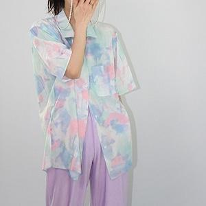 Watercolor shirt(ウォーターカラーシャツ)b-138