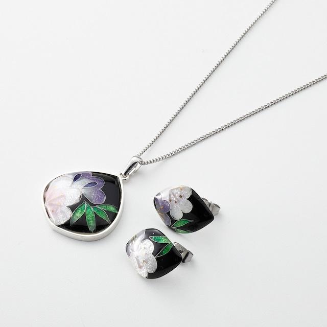 <Solid silver>咲華セット/shochikubai   solid silver jewelry-shouchikubai