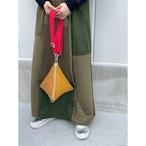 【sandglass】triangle bag(S)gold / 【サンドグラス】トライアングル バッグ(S)本体 ゴールド