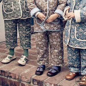 «即納»«pourenfant» adrion quilting pants 3colors キルティングパンツ