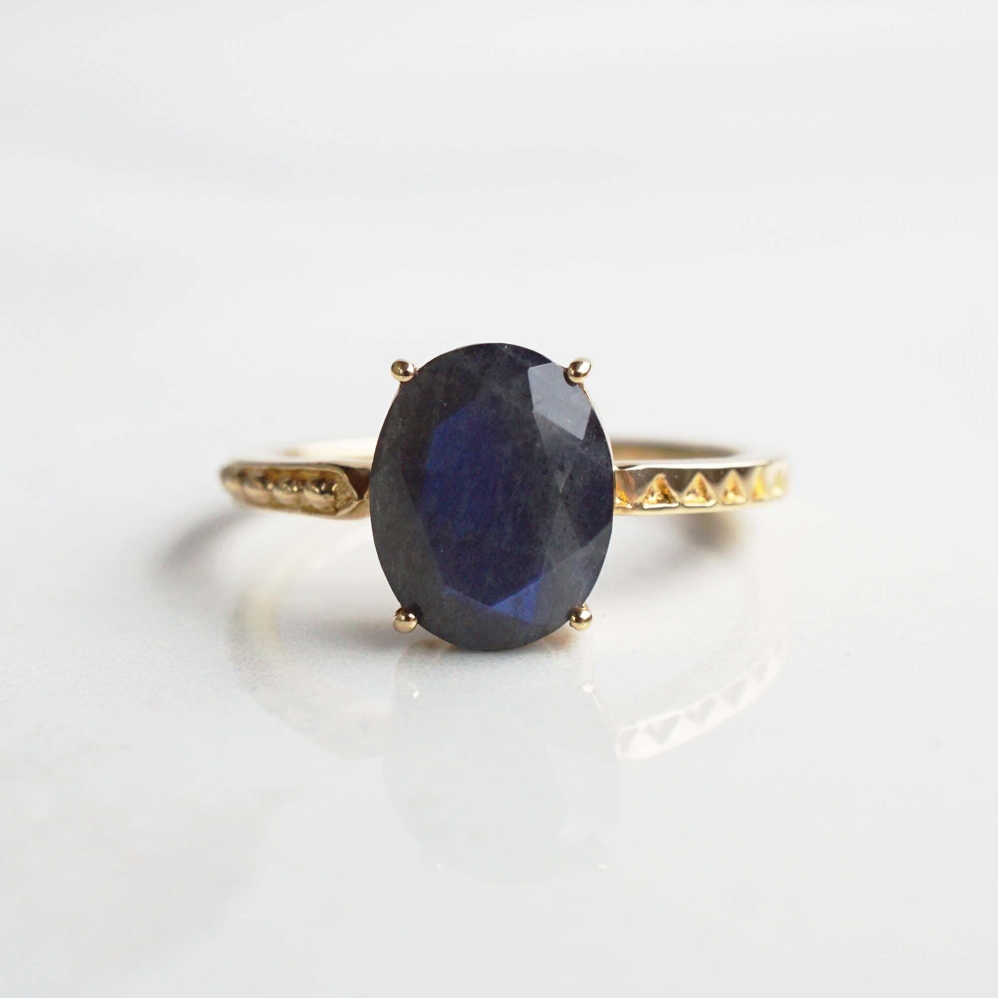 Labradorite Ring(R238-LB)