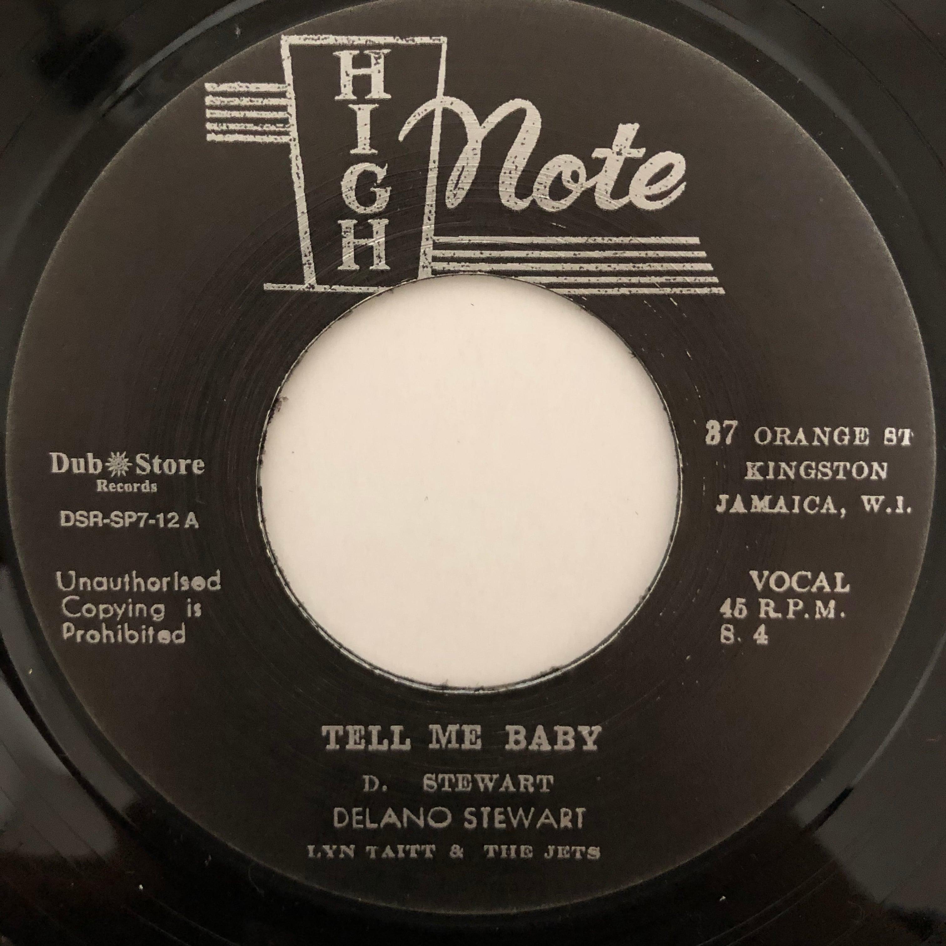 Delano Stewart - Tell Me Baby【7-20505】