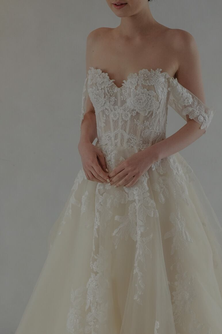 Wedding Dress/rental/Princess Line  /DR6008