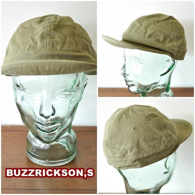 BUZZRICKSONS バズリクソンズ ヘリンボーンキャップ br02669 東洋エンタープライズ TOYO HERRINGBONE TWILL CAP