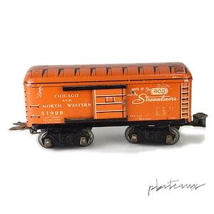 Marx 鉄道模型 CHICAGO AND NORTH WESTERN 51998 STREAMLINERS  貨車