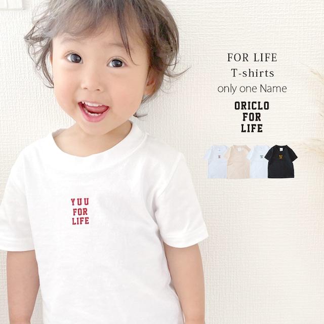 【名入れ】ORICLO オリクロ フロッキー FOR LIFE Tシャツ