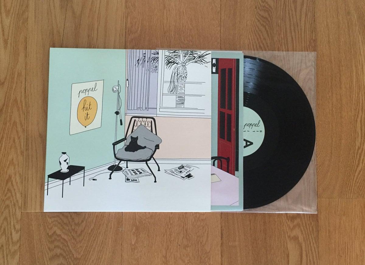 Poppel / Hit It(256 Ltd LP)