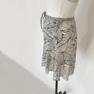 """❖""""Fiorina"""" Ballet Wrap Skirt -  Oriental Leaves [Sheer]( オリエンタル リーブス [シアー])"""
