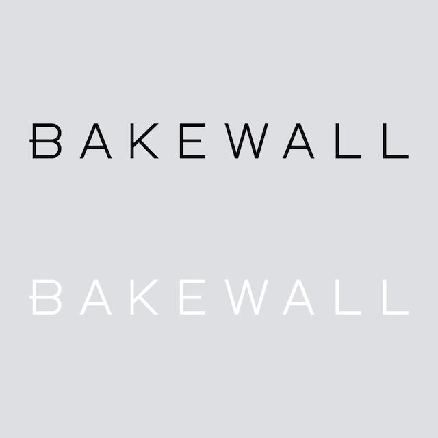 BAKEWALL LOGO CUTTING STICKER 【 M 】