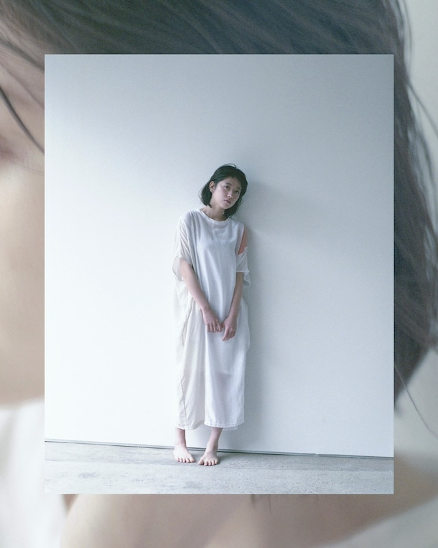 【Special price 40%OFF】bedsidedrama 記憶の配色 ワンピース  White
