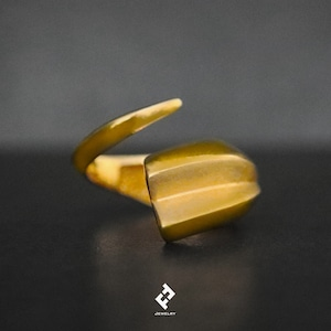+colmillo・ring (gold)