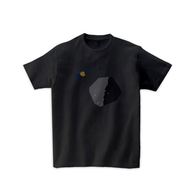 宇宙Tシャツ-小惑星探査機
