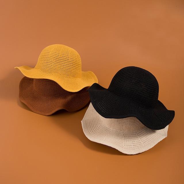 【小物】透かし彫りカジュアルスウィート帽子26046966