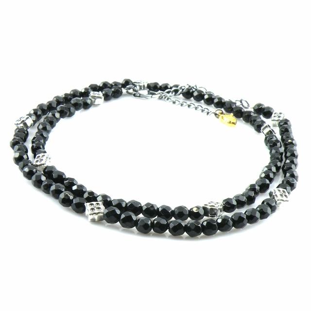 トレサリーブラックスピネルネックレス ACCN0008 Treasury Black Spinel Necklace