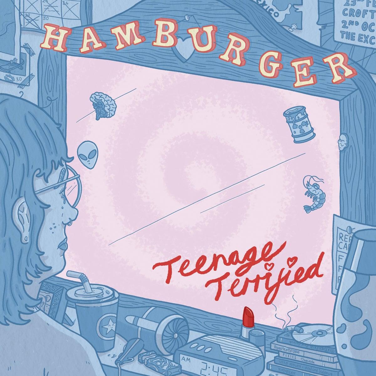 hamburger / Teenage Terrified(300 Ltd LP)