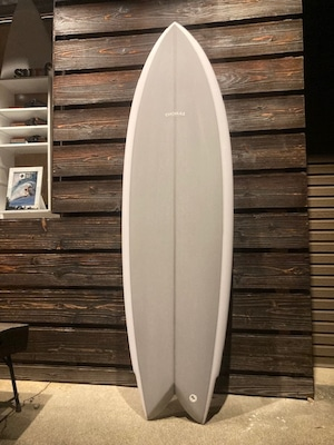 Thomas Surfboards MOD FISH 5'10'' Grey + Keel Fins