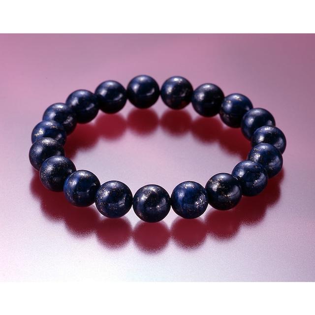 【第三の目の覚醒】高品質・大珠 天然石 ラピスラズリ 21珠ブレスレット(10mm)