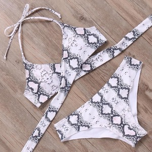 Bikini♡パイソンクロスビキニ