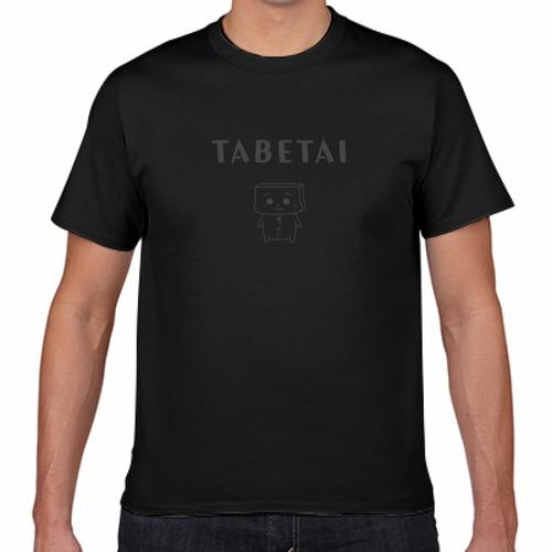 とうふめんたるずTシャツ(ごまぞうくん・黒)