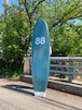 88Surfboards  7'0'' Single Fin D.Green/White  本州送料¥13200込み価格