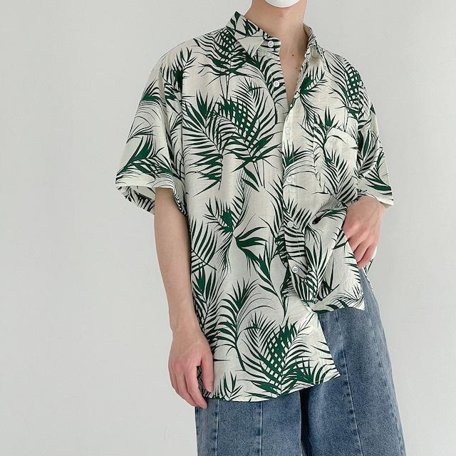 ハワイアンビーチシャツ YH8909