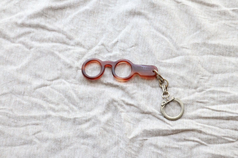 【フランス】メガネのキーホルダー/COTTE&BRUNON