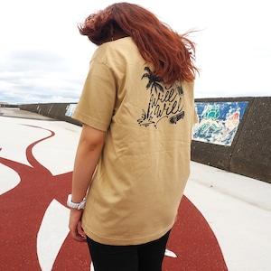 【数量限定カラー】WillxWill American T-shirts Beige