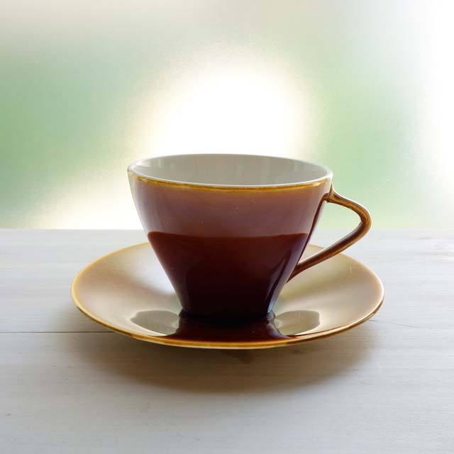 ベルギーのコーヒーカップ&ソーサー