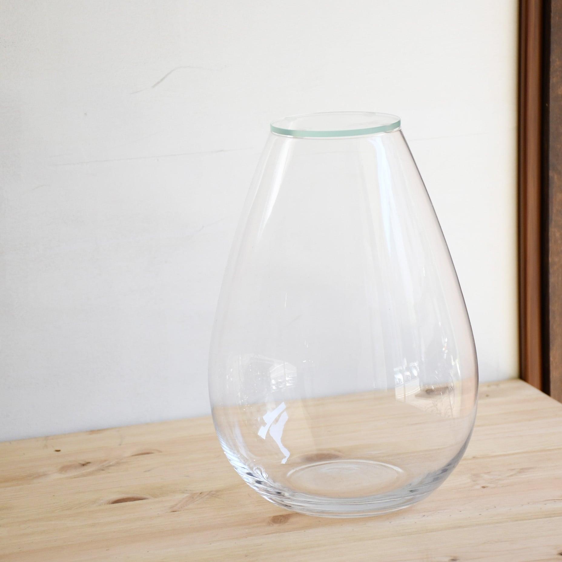 【ガラス容器】しずくベース・L(85xM175xh245mm)