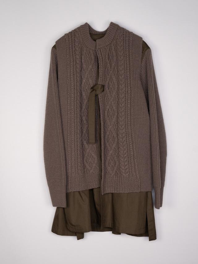 3way aran knit
