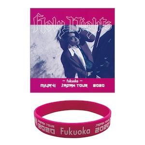 【MIYAVI''Holy Nights''JAPAN TOUR 2020】ラバーバンド Fukuoka