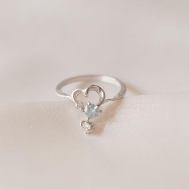 flemington silver  heart collection 3 8