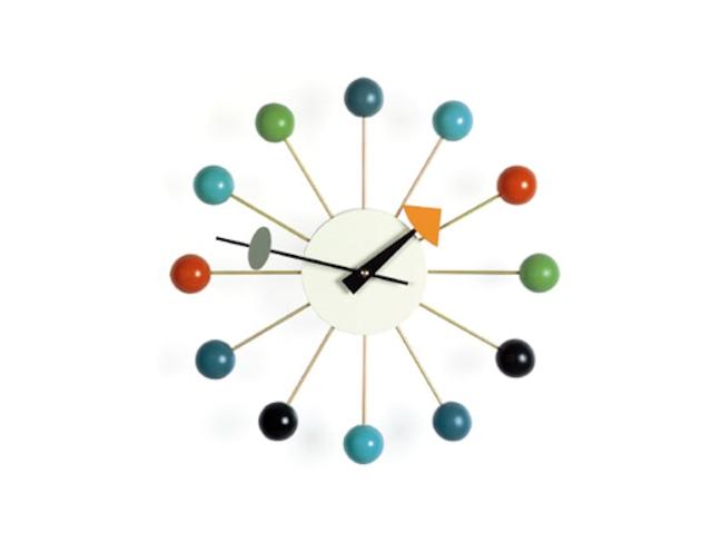 【Vitra Design Museum】Ball Clock 【Multi Color】