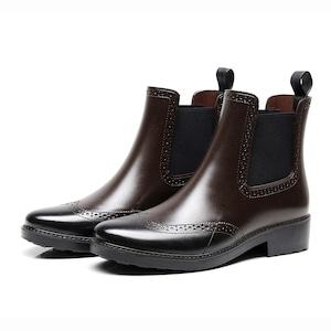 レディース 雨靴 長靴  レインブーツ レインシューズ 滑り止め ショートブーツ 7301